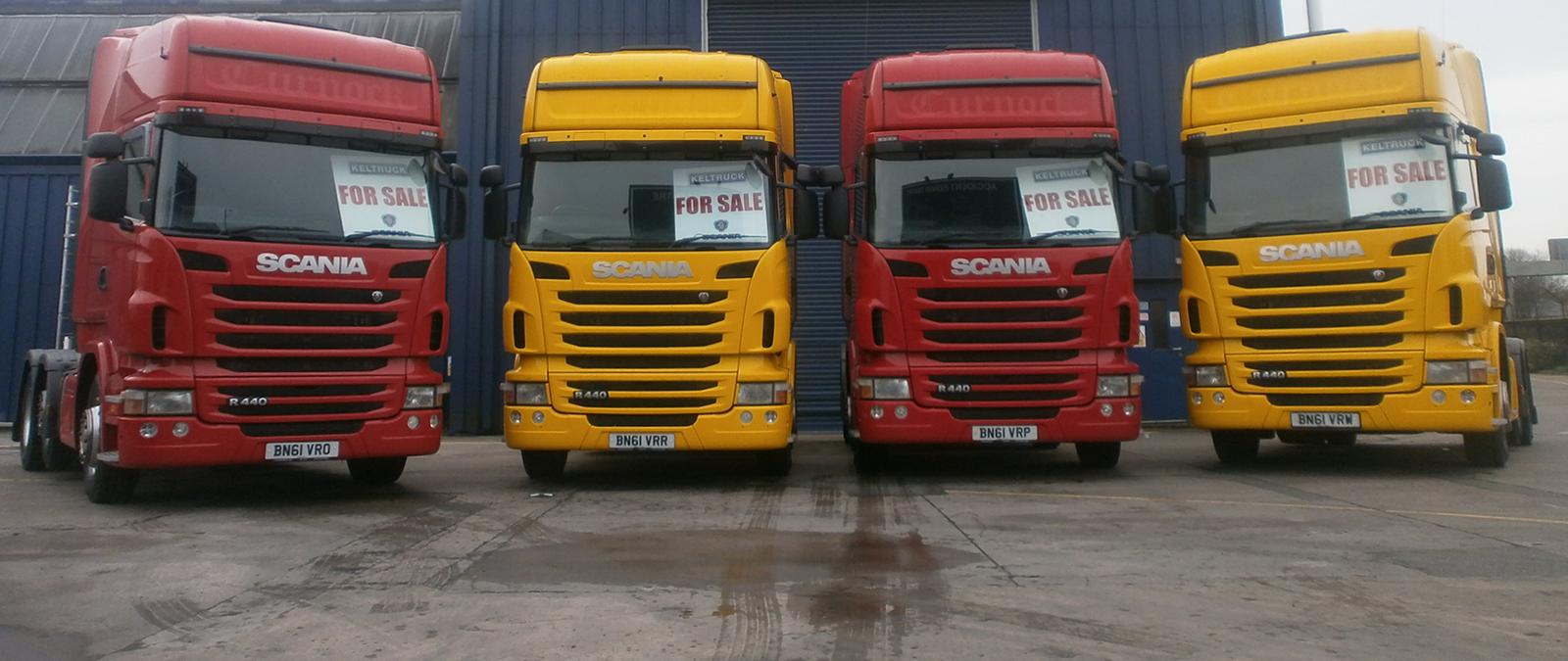 Used Scania Trucks & Parts – Keltruck Limited