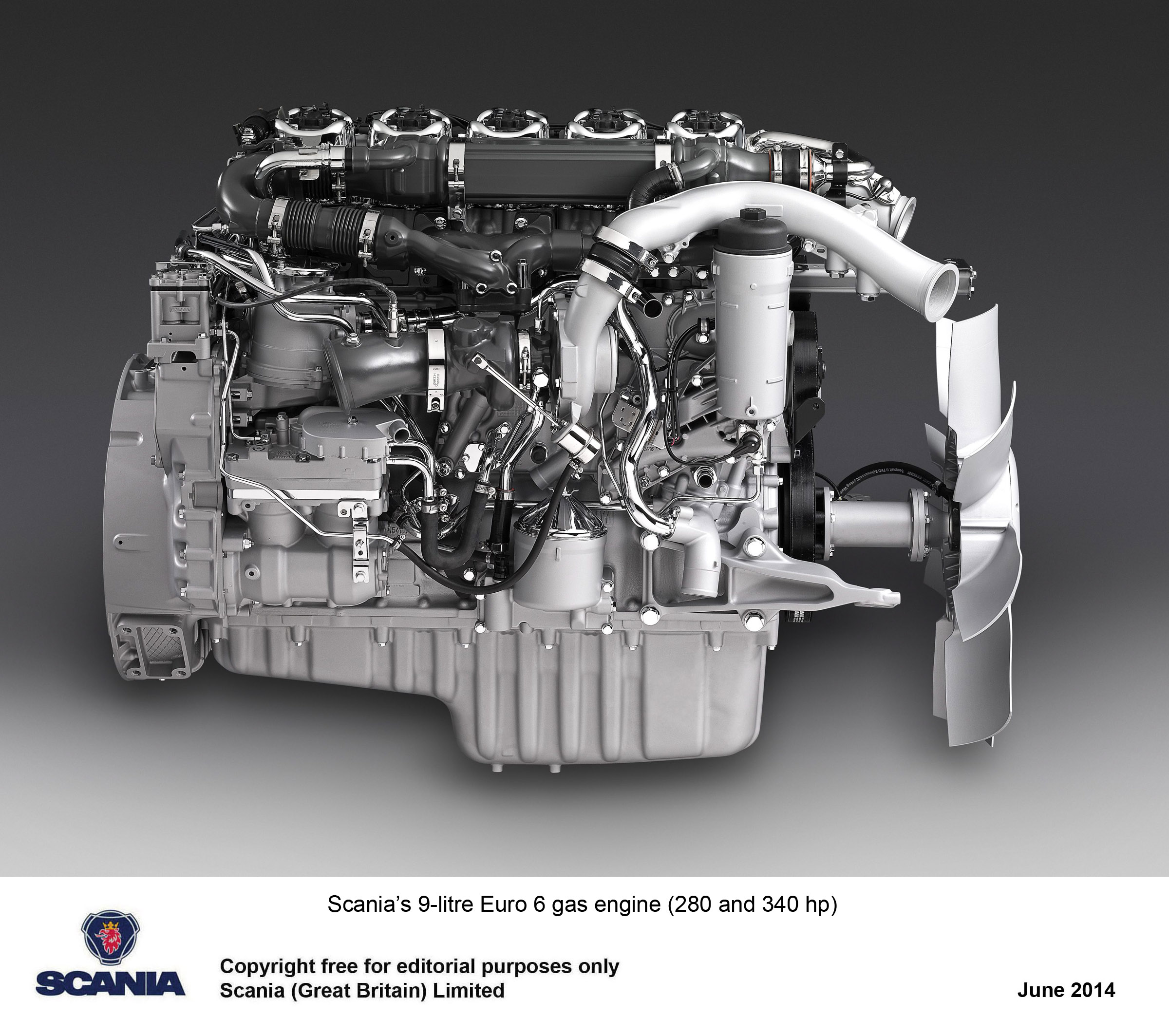 Scania Introduces The Uk S First Dedicated Gas Powered