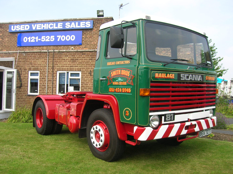 Classic Scania Trucks - Keltruck Scania