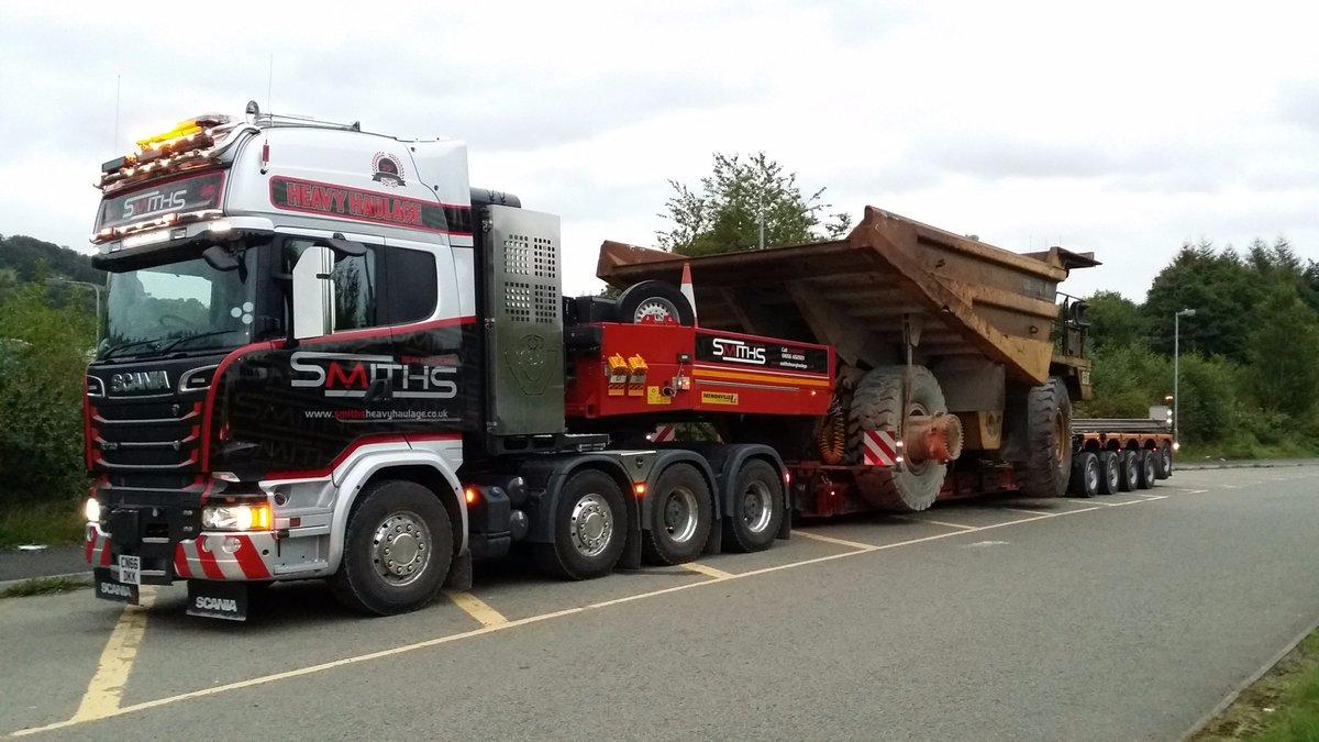 Keltruck supplies UK's first RHD Scania R730 8x4 250-Tonner