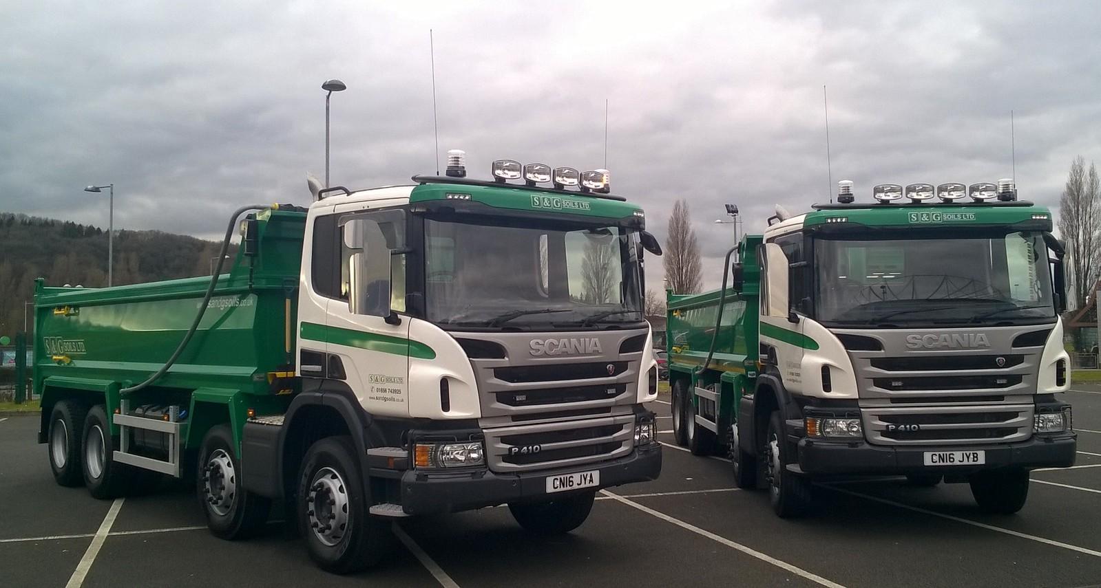S & G Soils chooses Keltruck for new Scania tippers ...