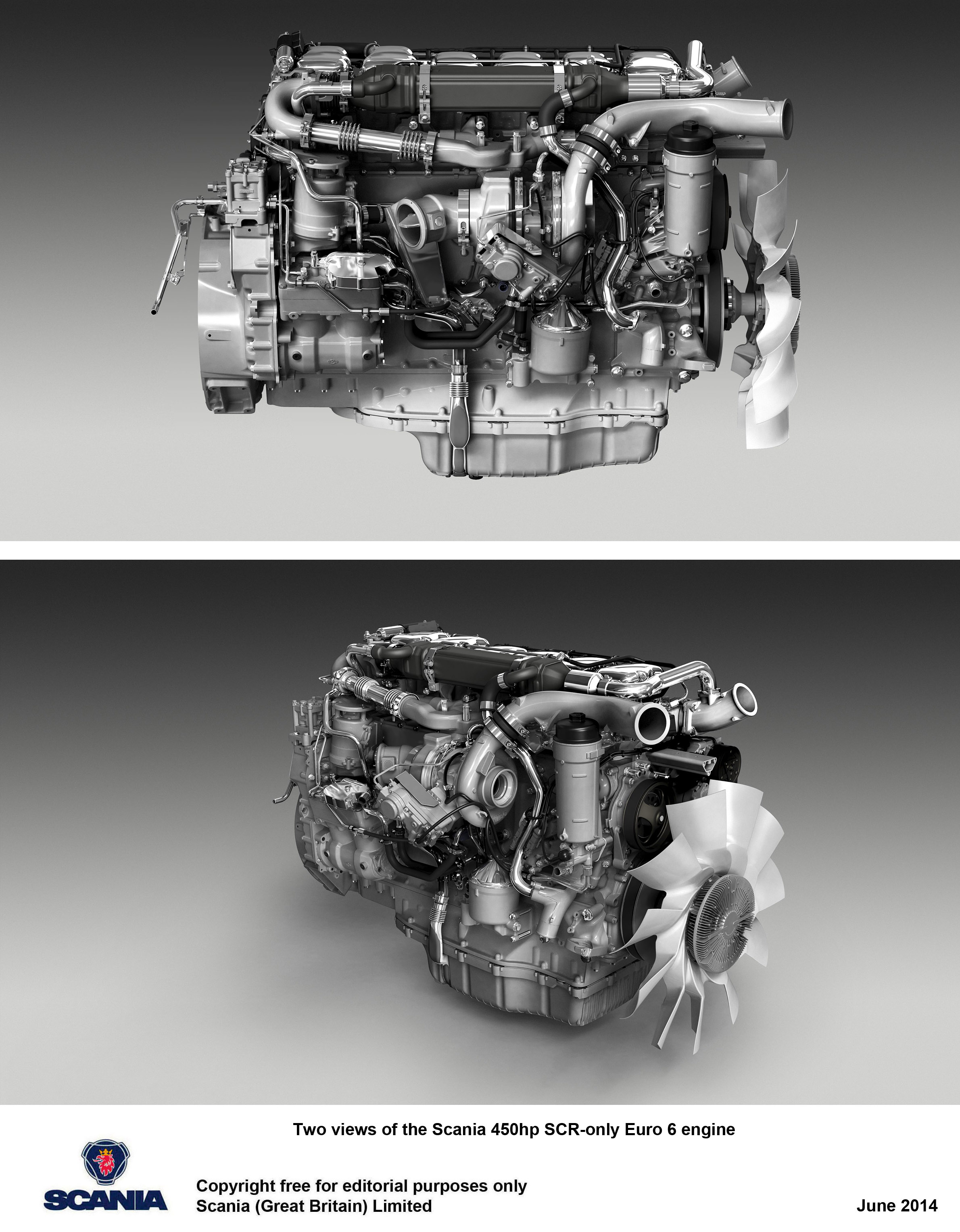 Scania launches SCR-only 450 hp engine - Keltruck Scania