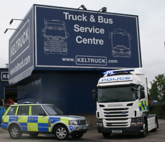 Bbc Crimewatch Police Truck Caught In The Act At Keltruck Keltruck Scania