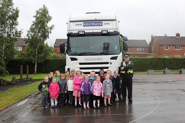 Police School Awareness Day At Castlefort Junior Mixed
