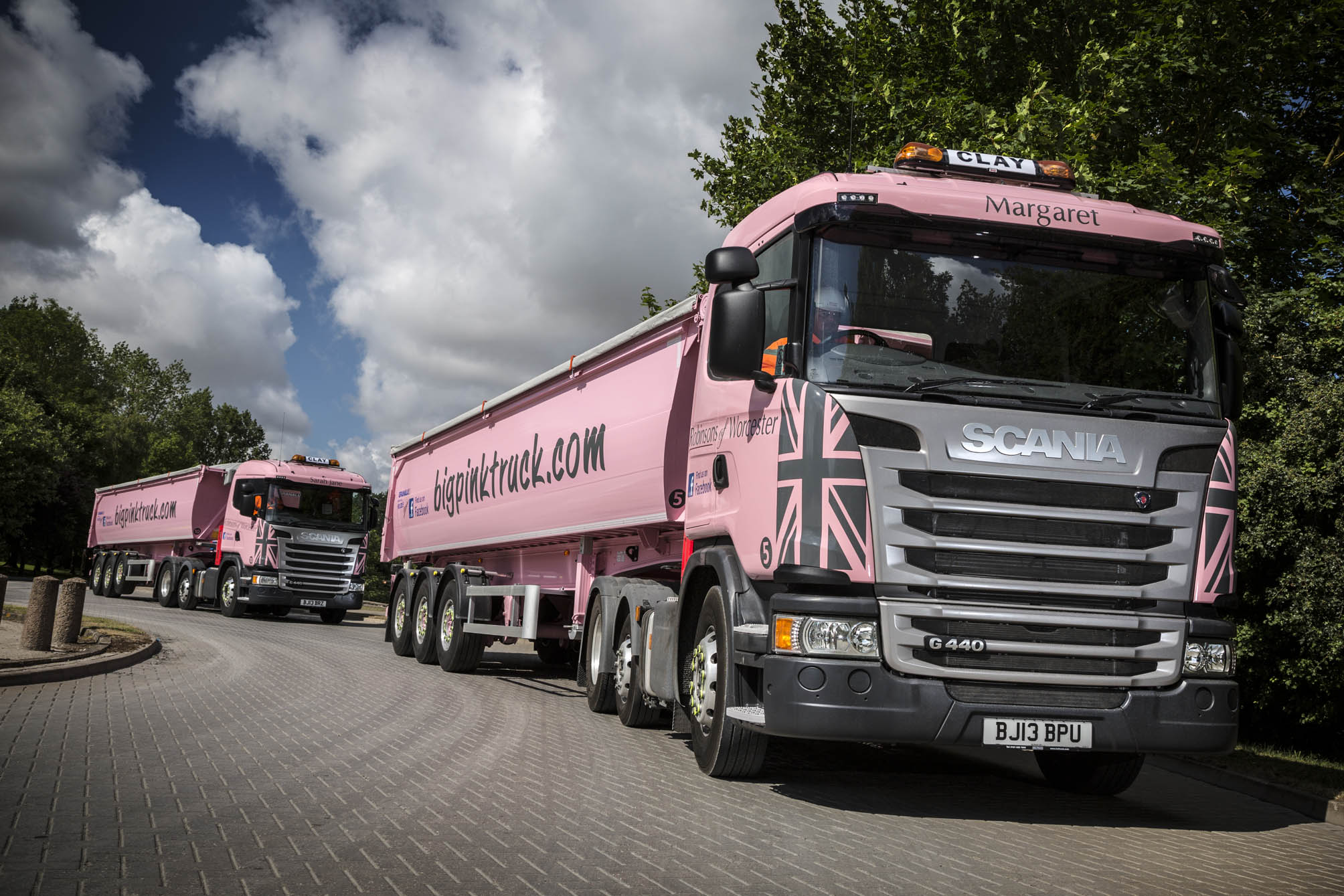 Robinsons Of Worcester Is In The Pink After Landing
