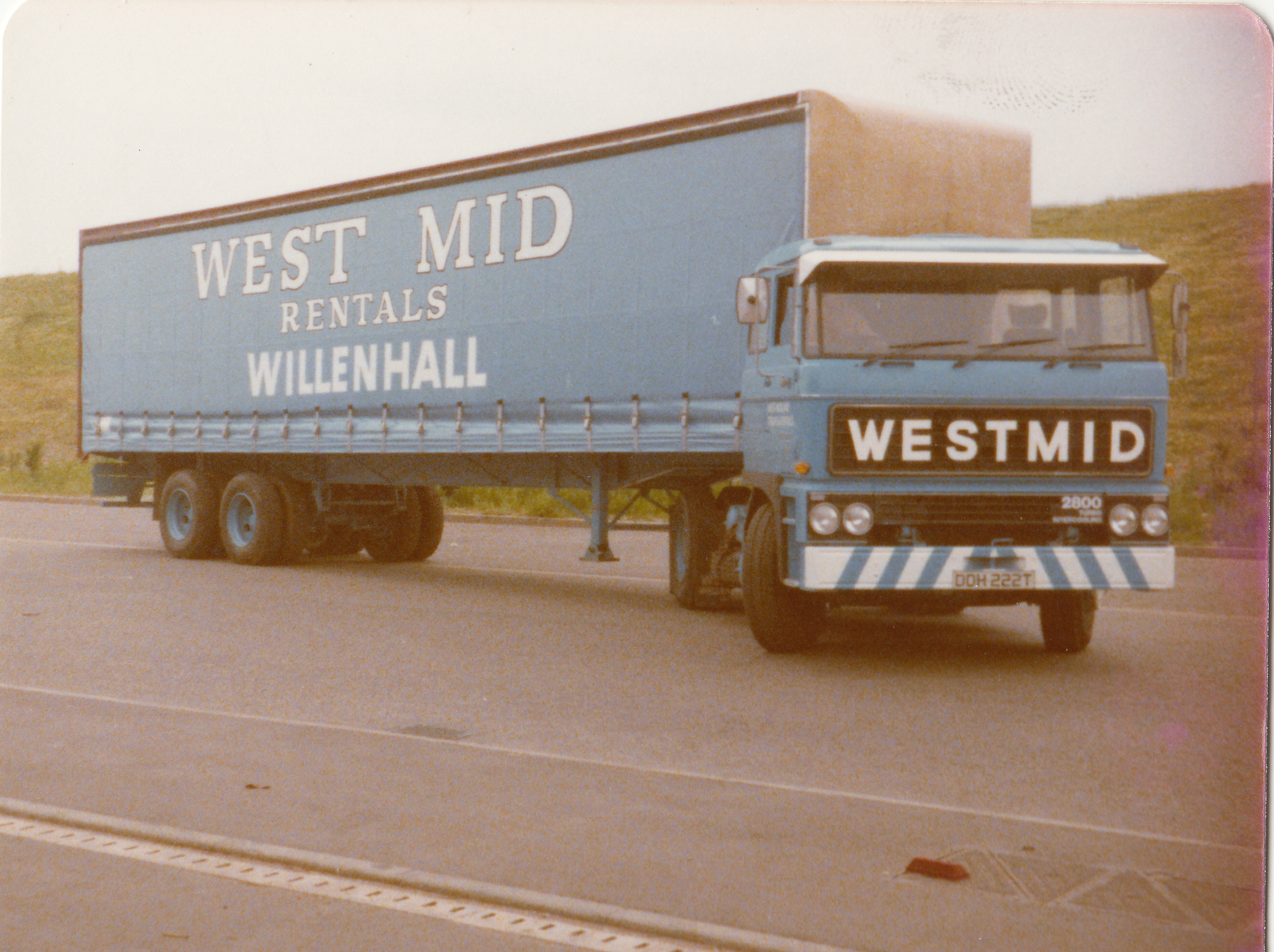 One of Westmid's famous DAFs before we saw the light in favour of Scania.