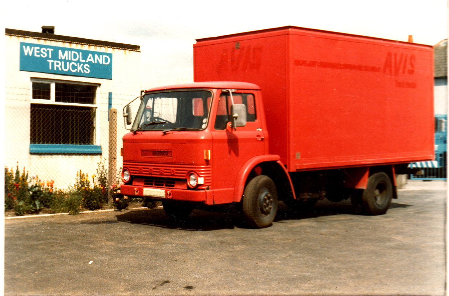 One of many ex-Avis rental box-vans bought from Joe Brandrick.