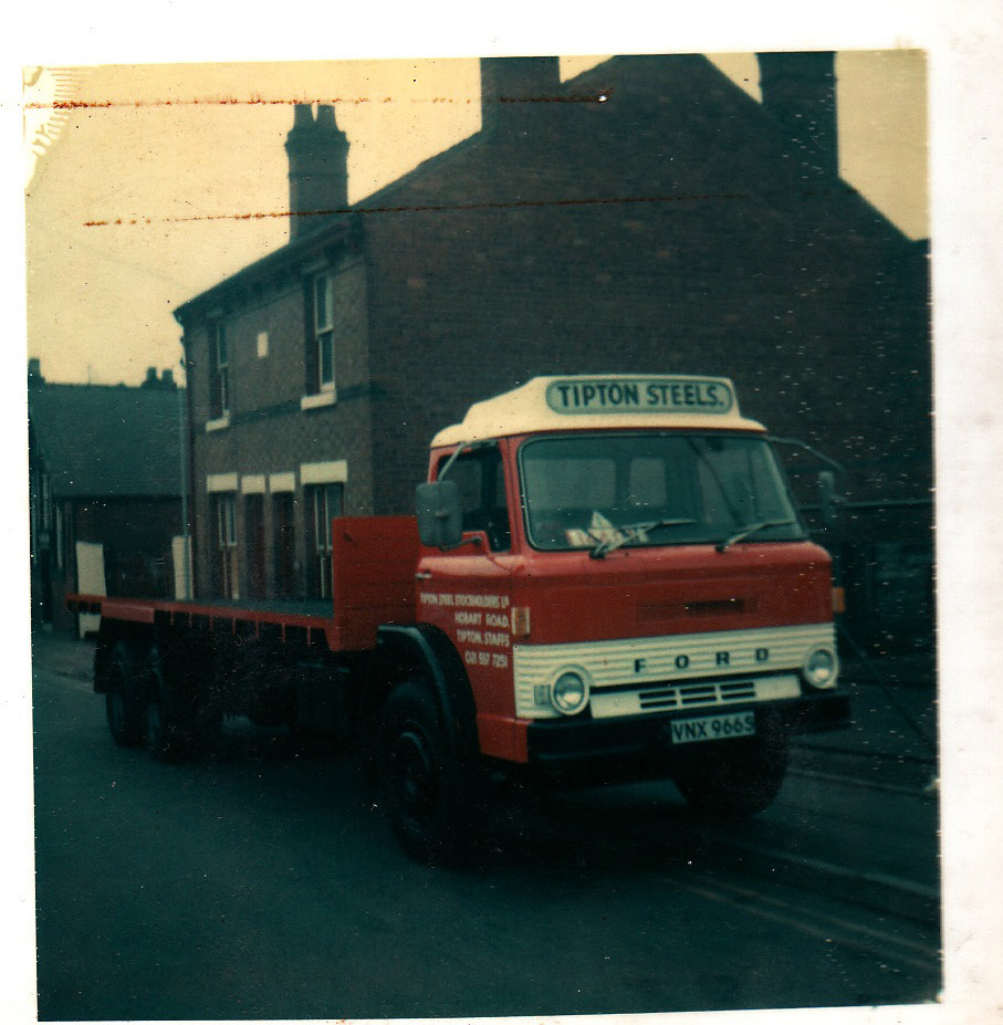 Ford D Series. One of many trucks sold to steel stockholder Tipton Steels.