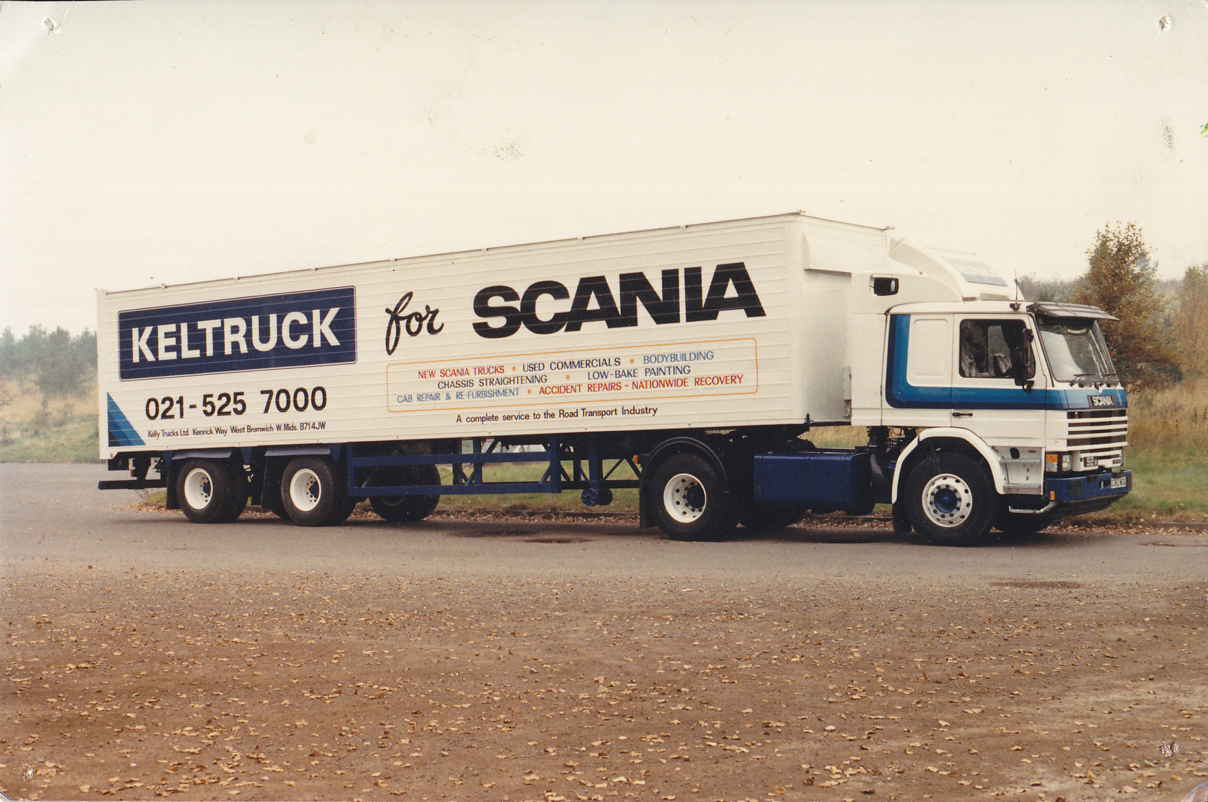 Keltruck's Scania P92 demonstrator