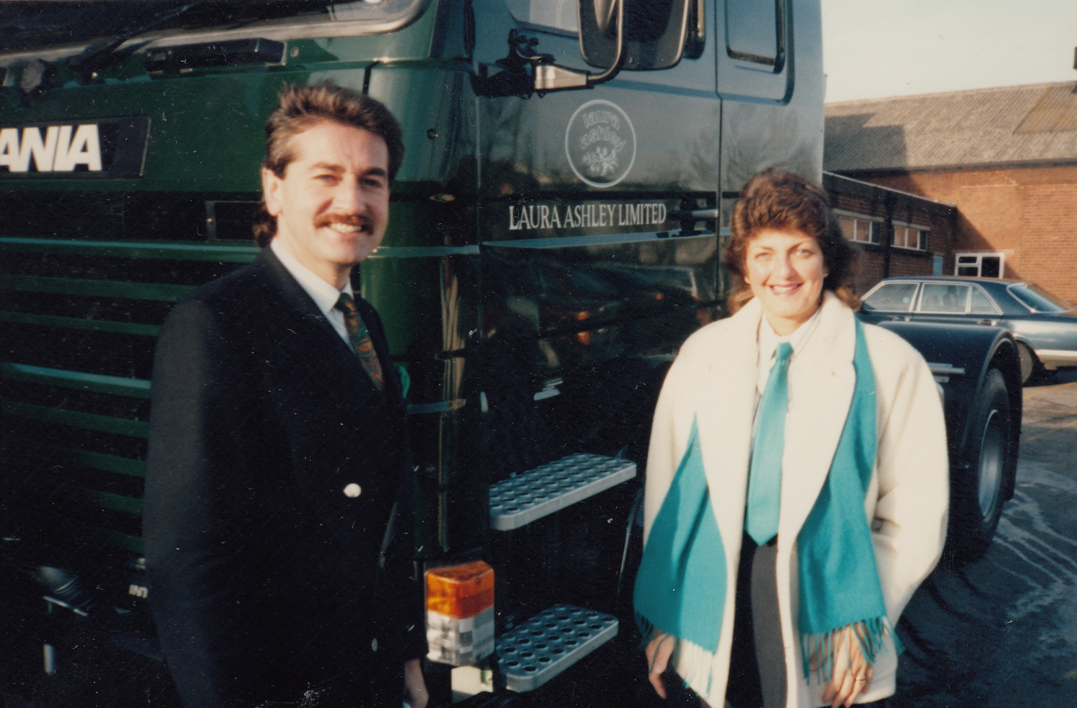 Chris Kelly & Sonia Kelly in August 1986.