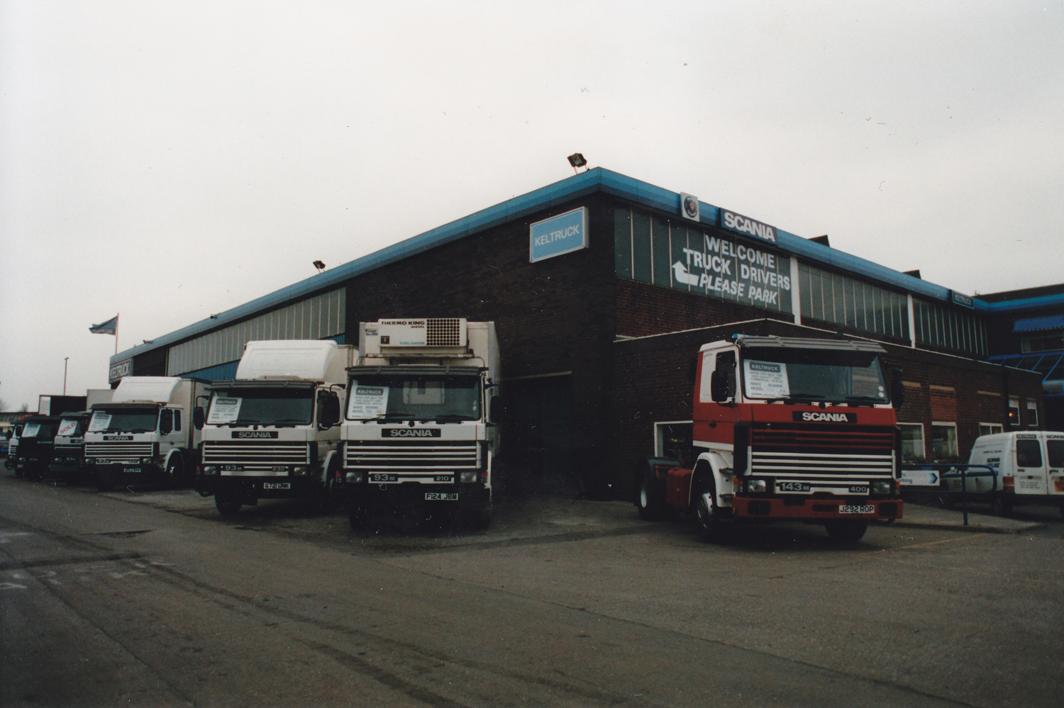 Keltruck West Bromwich circa 1992