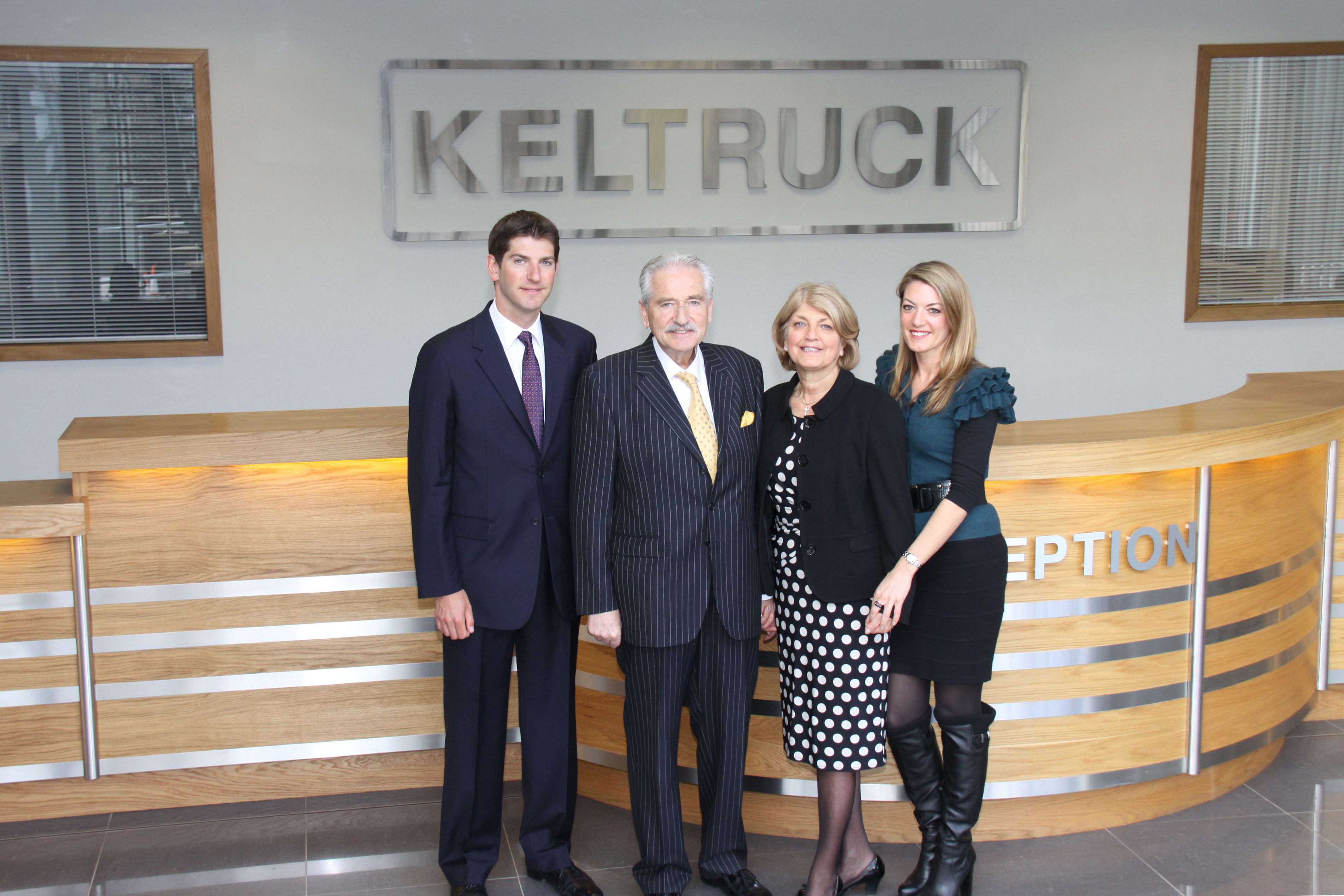 Chris Kelly & family at Keltruck's 30th anniversary celebration