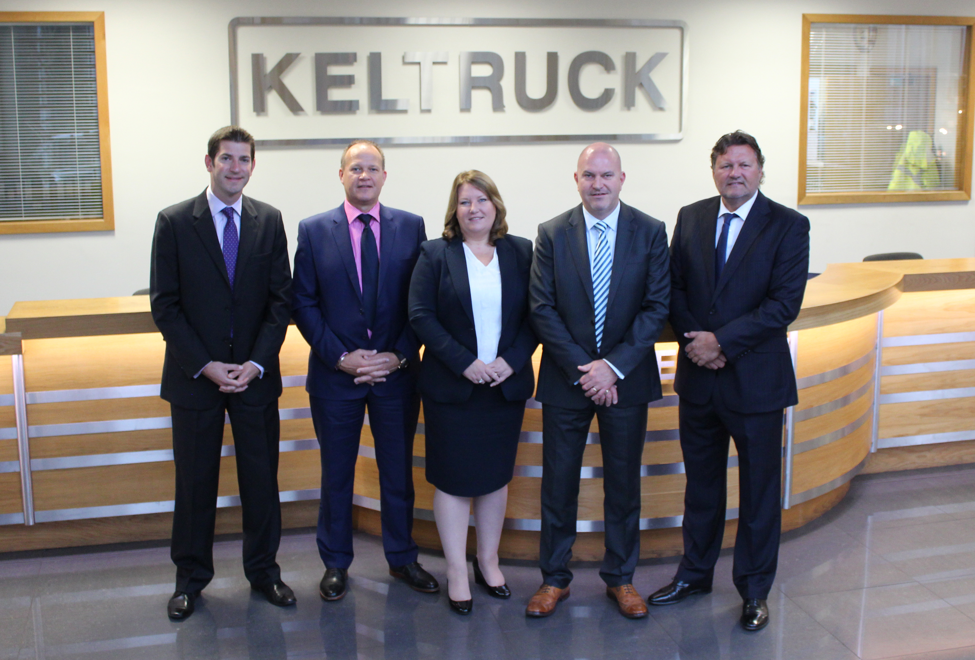 The Chairman & Executive Directors of Keltruck Limited