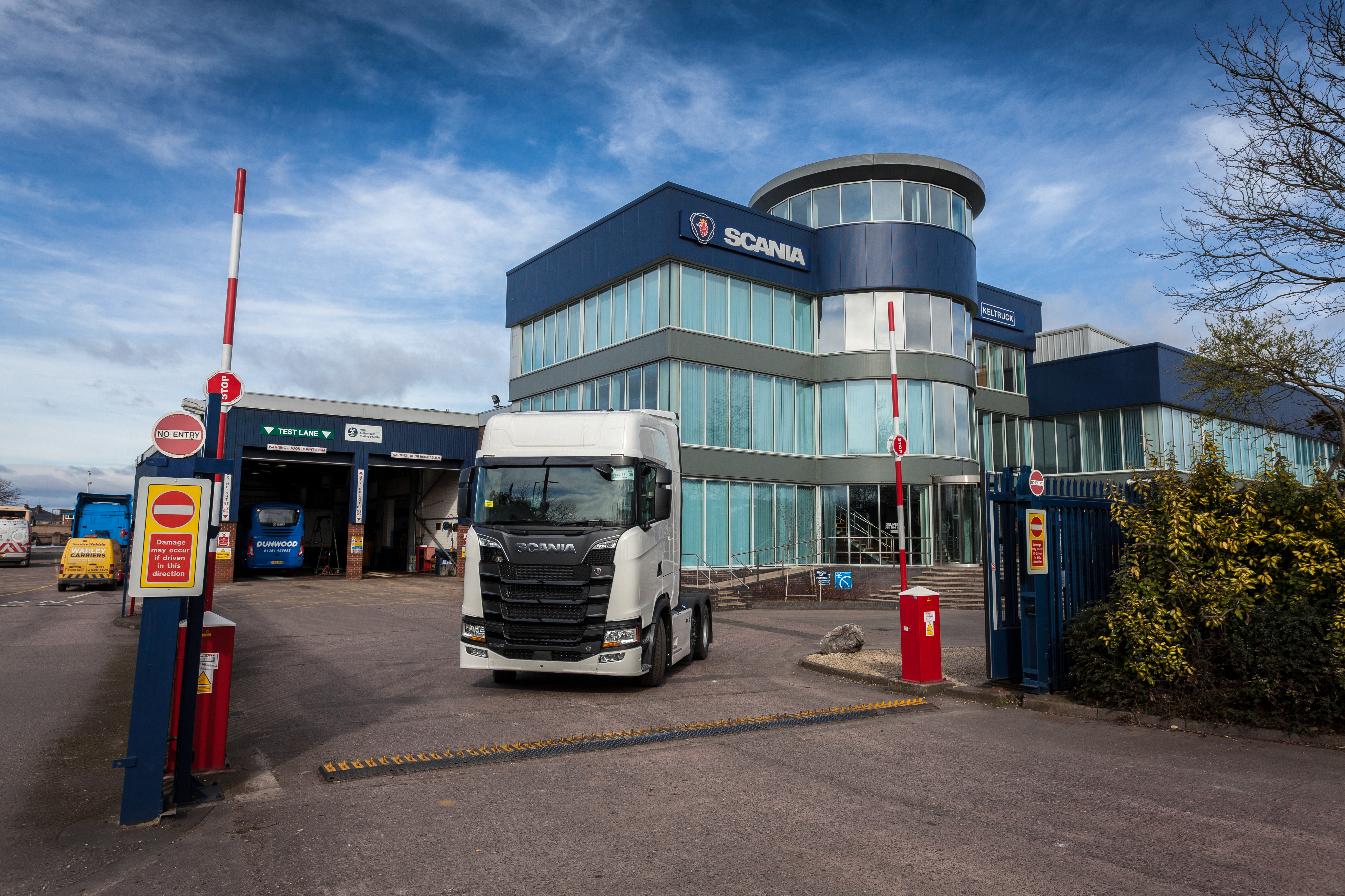 The Next Generation Scania at Keltruck West Bromwich