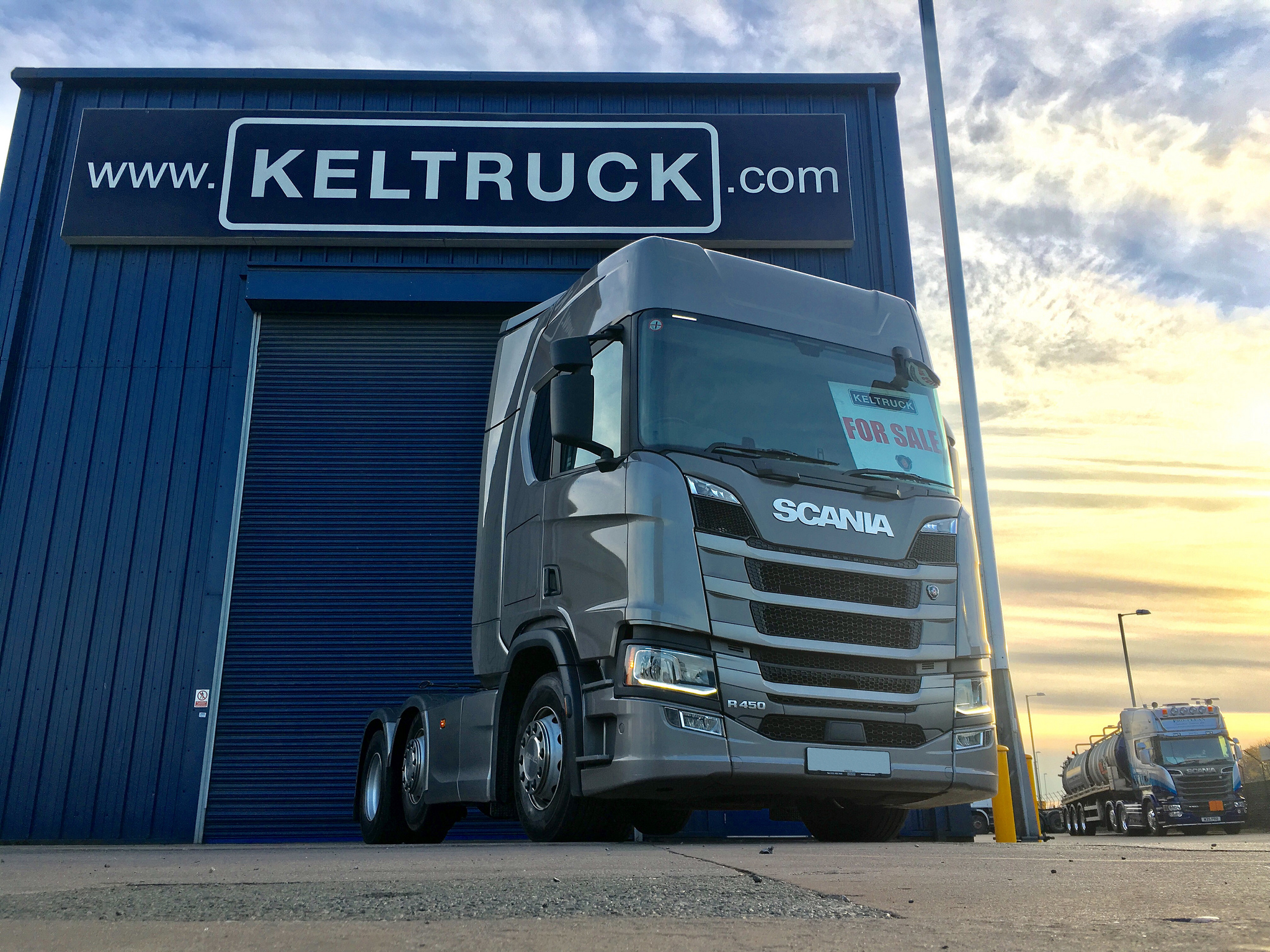 Used scania trucks for sale in europe