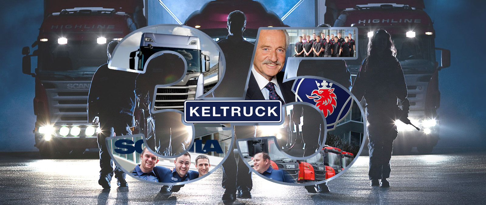 Keltruck Scania 35th anniversary in 2018
