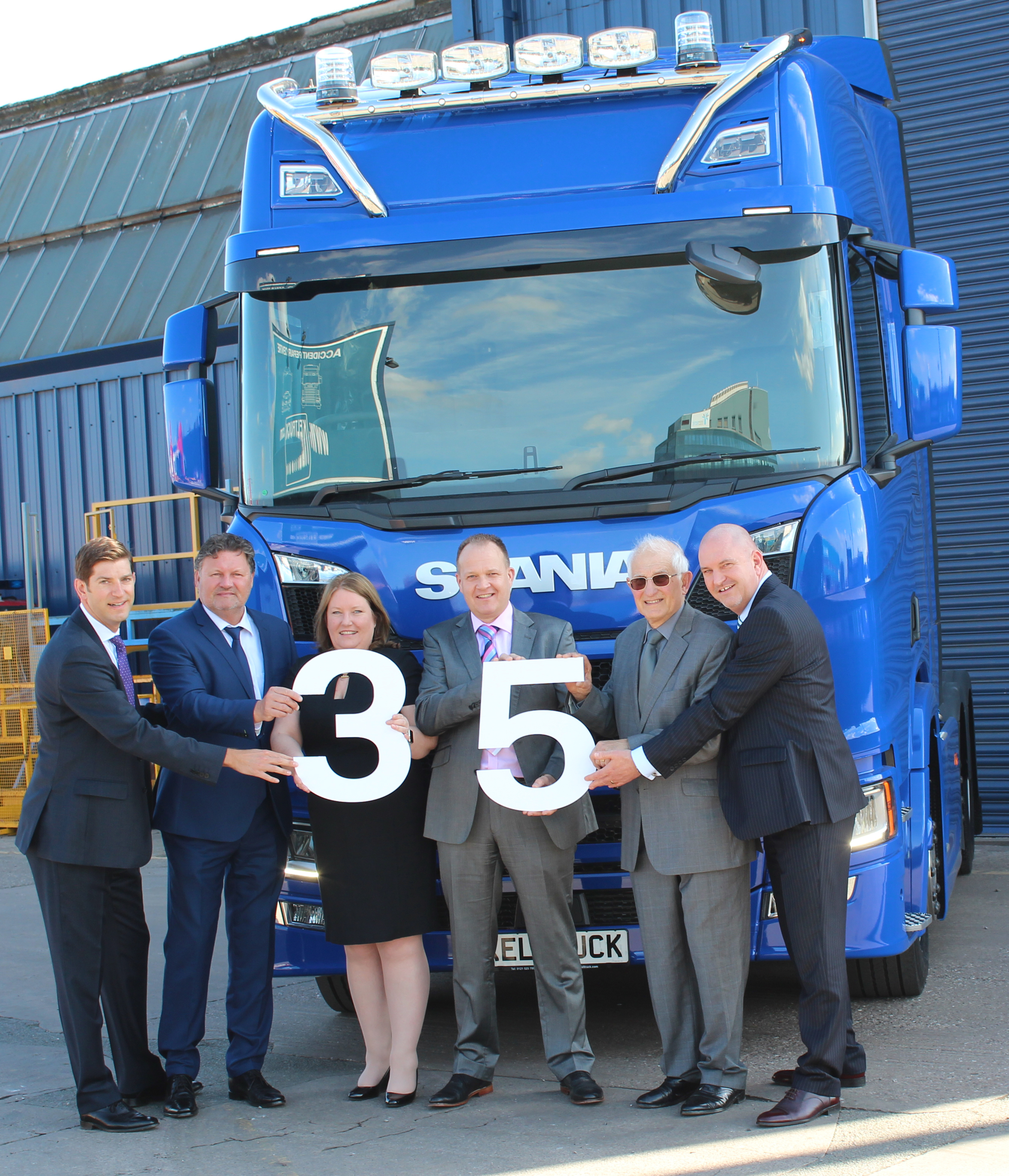 Keltruck Scania 35th anniversary, 2018