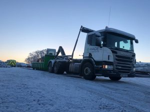 Wade Group used Scania truck supplied by Keltruck