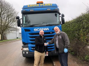 Eagle Plant used Scania truck supplied by Keltruck
