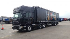 Pedro Pet Foods used Scania truck supplied by Keltruck
