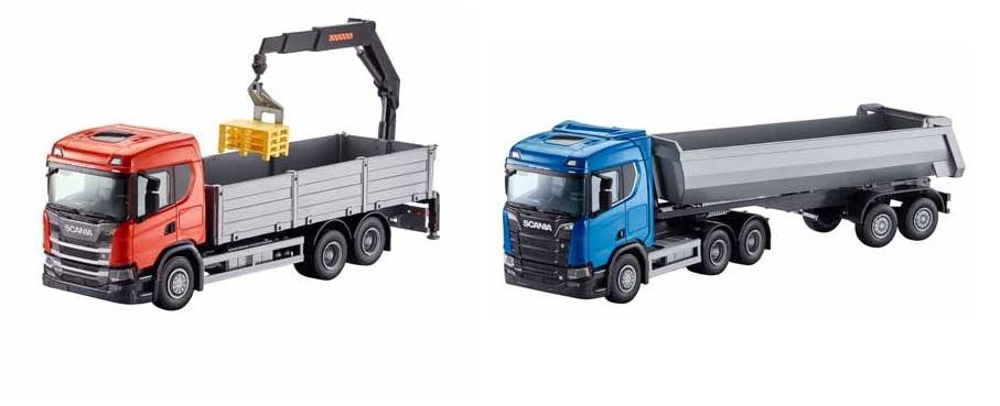 Scania toy trucks from Keltruck
